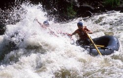 Whitewater Rafting Caldera